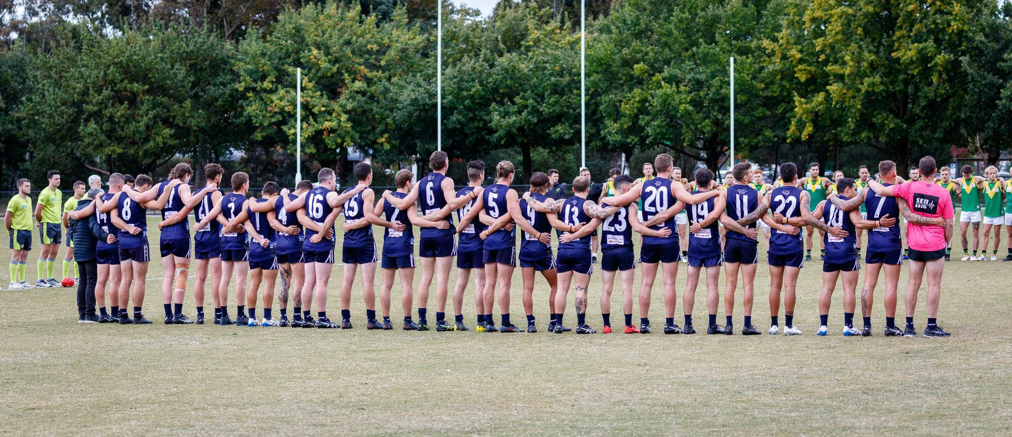 Anzac game v Bayswater 2021